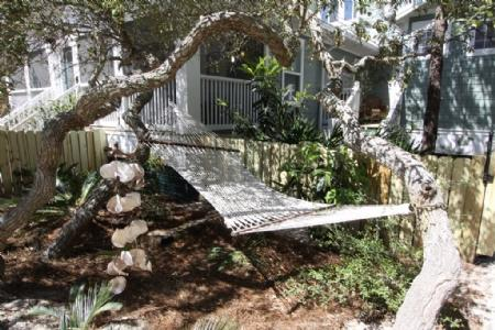 Relaxing Hammock is Poolside - Close Enough - Seagrove Beach - rentals