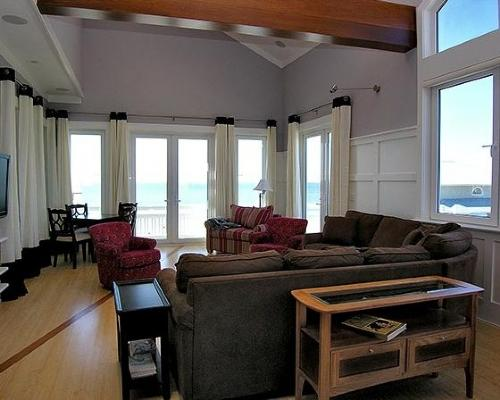 Living Room - Gulf View - Mimosa Mornings - Grayton Beach - rentals