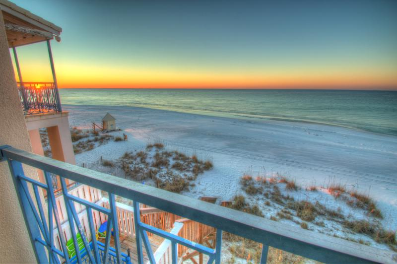Enjoy amazing sunrises and sunsets from your ocean front home, Peace of Paradise!  - Peace of Paradise - Gulf Front Home - Miramar Beach - rentals