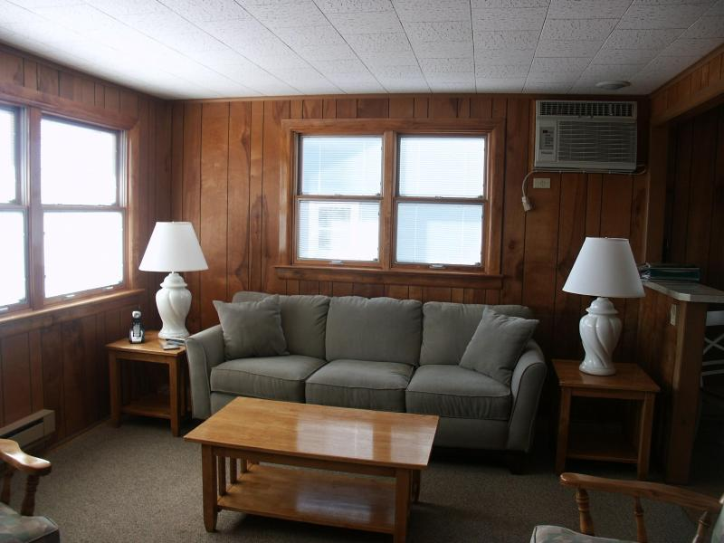 bright and airy living room - September and Chowderfest available.  Walk to Bay Village! - Beach Haven - rentals
