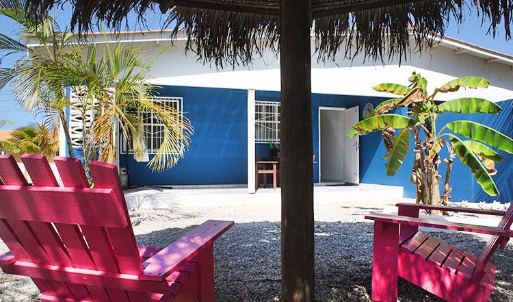 Garden and Porch - Welcome2bonaire Rental Apartments App. B - Kralendijk - rentals