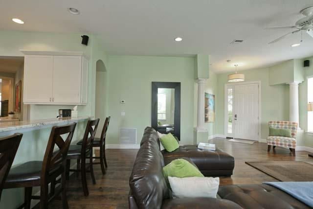 Living Area adjacent to kitchen - Academy Park Villa 901 - Bradenton - rentals