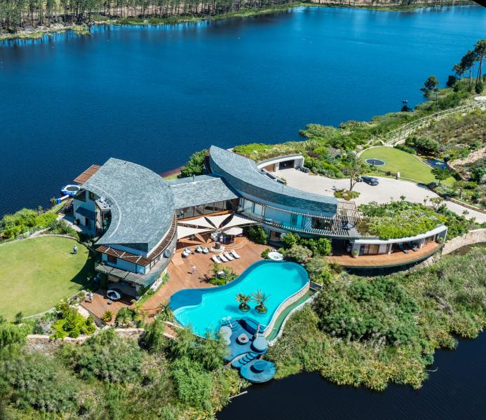 Aerial - Lothian House and Lodge. - Cape Town - rentals
