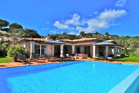 Supreme La Reserve-Villa 5, with luxury kitchen, sea views and private garden - Image 1 - Ramatuelle - rentals