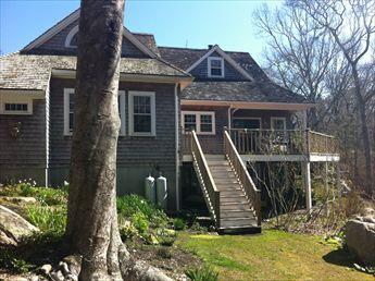 Back exterior - WOODS HOLE 116230 - Woods Hole - rentals