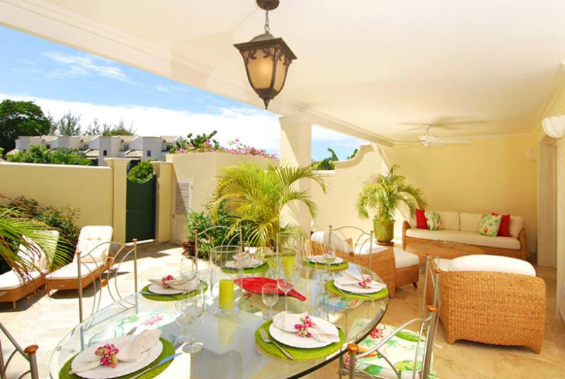 Barbados Villa 36 The Large Outdoor Terrace Comprises A Dining And Seating Area Ideal For Entertaining. - Image 1 - Mullins - rentals