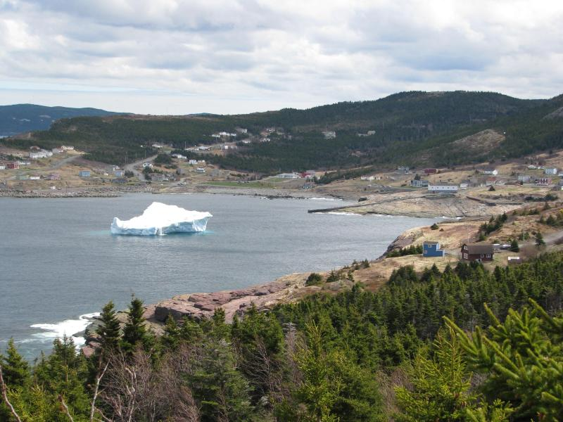 iceberg in Flatrock - taken from a part of East Coast Trail just 20 mins from the apartment - Bright 1 bedroom in historic district - Saint John's - rentals