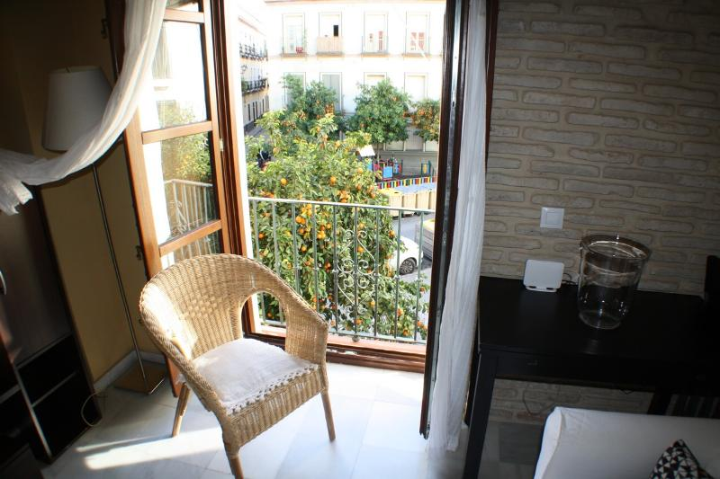 Views over the orange trees of the square - PRETTY NICE MORAVIA APARTMENT SEVILLE CENTER - Seville - rentals