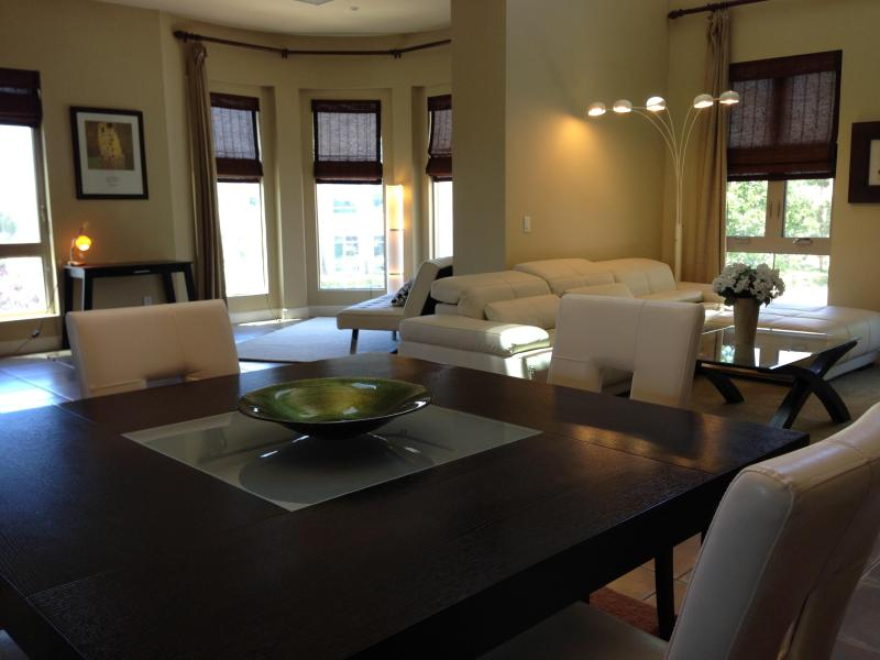 Open Floor Plan Dinning Room sits up to 8 - Vacation Rental Modern Luxury  Near Laguna Beach - Aliso Viejo - rentals