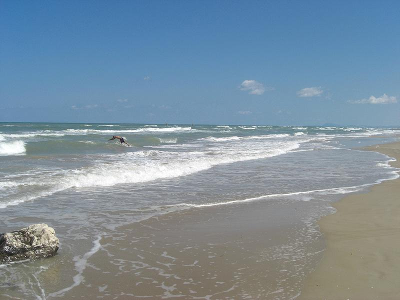 Beach near Apartment  - Fantastic 2 Bdrm Apt Minutes from the Adriatic Sea - Fano - rentals