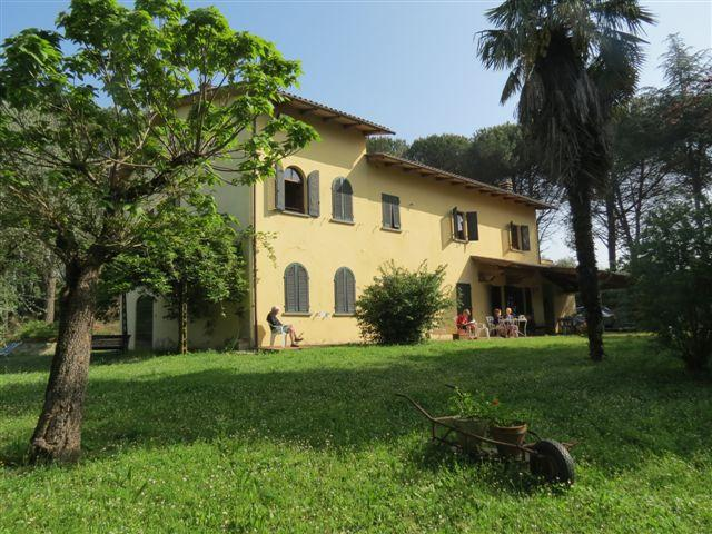 The house and the garden - Families Tuscan house  between Lucca and Firenze - Lucca - rentals