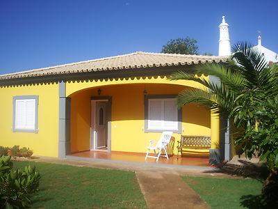 Front of the Villa - Villa Isabel with Swimming Pool, Sea and Countryside Views near Loule,Vilamoura. - Loule - rentals