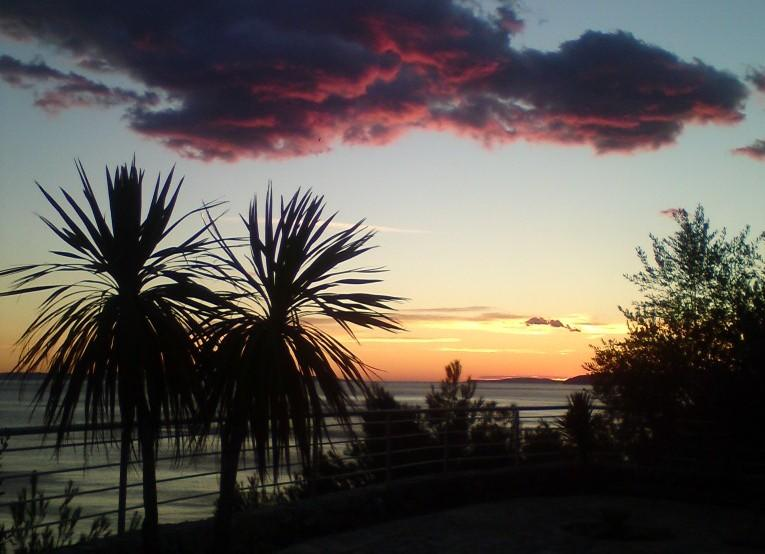 sunset from the Ark apartments - Ark, seaview apartment, luxury by the beach IV - Split - rentals