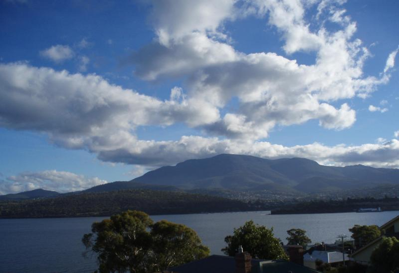 No photoshopping- this IS the view from your patio garden! - Queen's Domain View- a visual feast! - Hobart - rentals