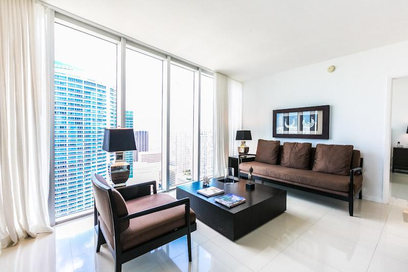 2 BR at Viceroy IconBrickell 4204 - Image 1 - Miami - rentals