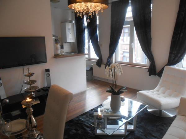 Luxury 1bedroom apartement in the city of Brussels - Image 1 - Brussels - rentals