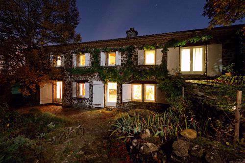 La Mirande at Night - Luxury B&B and Table d'Hote in the Ardeche - Rochessauve - rentals