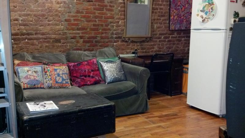 Comfortable Living Area - Columbia U - UWS - Safe, Clean, Convenient Apartment - Manhattan - rentals