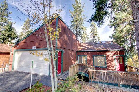 Lovely Remodeled Cabin with Hot Tub and Views ~ RA678 - Image 1 - South Lake Tahoe - rentals