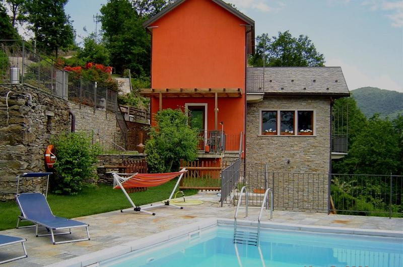 Lago Maggiore villa with swimming-pool - Image 1 - San Bernardino Verbano - rentals