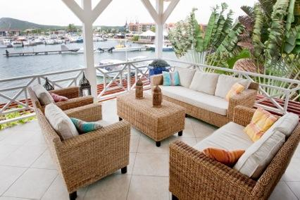patio - Buen Viento Apartment - the famous Spanish Water Curacao - Willemstad - rentals