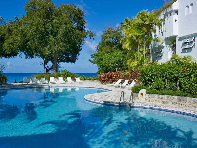 "Merlin Bay 2 ""Eden on the Sea"" at The Garden, Barbados - Beachfront, Pool, Private, Peaceful And Secure Community - Image 1 - The Garden - rentals"