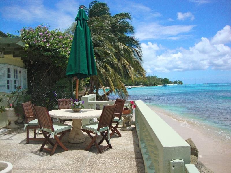 Turtle Reef at Mullins, Barbados - Beachfront, Reef Directly In Front Of House Where Turtles Are Often Seen, Safe Swimming On Either Side Of The Reef - Image 1 - Lower Carlton Beach - rentals