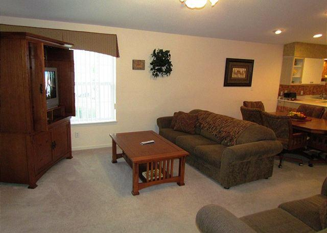 Living Room - The Leading Edge- 2 Bedroom, 2 Bath, Golf View Condo - Branson - rentals