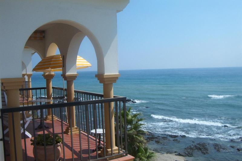 The Balcony with seaview  - Beautiful beachfront Penthouse on the Costa del Sol - La Cala de Mijas - rentals