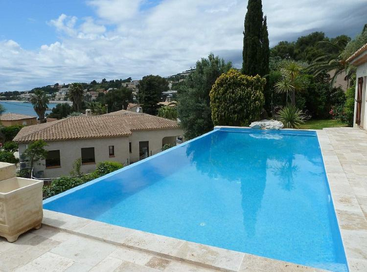 ViewfromPool-01 - Villa with swimming pool & terrace, 400 m from beach - Sanary-sur-Mer - rentals