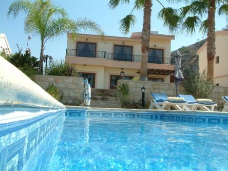 Pool area  - A first class , 3 Bedroom villa with private pool - Pissouri - rentals