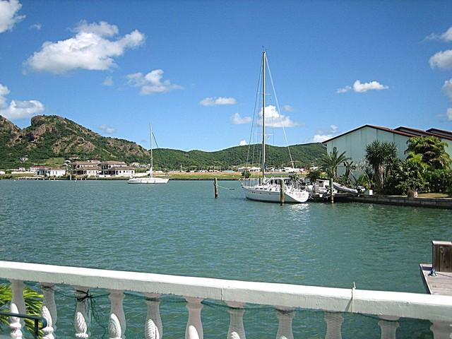 View over waterway - Tropical Treat - close to gorgeous beach! 238E - Jolly Harbour - rentals
