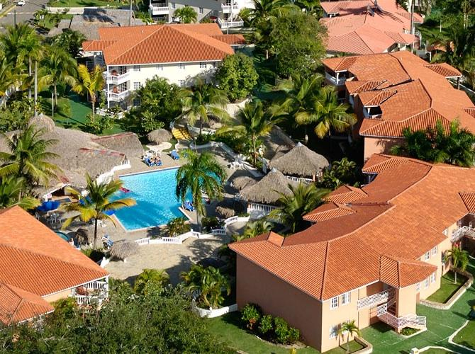 Helicopter view  - 1Bedroom apartment - all inclusive (meals -drinks) - Puerto Plata - rentals
