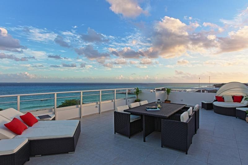 Best ocean view Penthouse in Playa del Carmen - Highest penthouse in Playa del Carmen 5th Avenue - Playa del Carmen - rentals