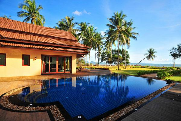 3 Bedroom Luxury Beachfront Villa in Had Yao - Image 1 - Krabi - rentals