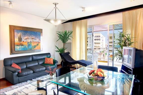 Modern and bright living room - Ipanema - Top Two Bedroom - Rio de Janeiro - rentals