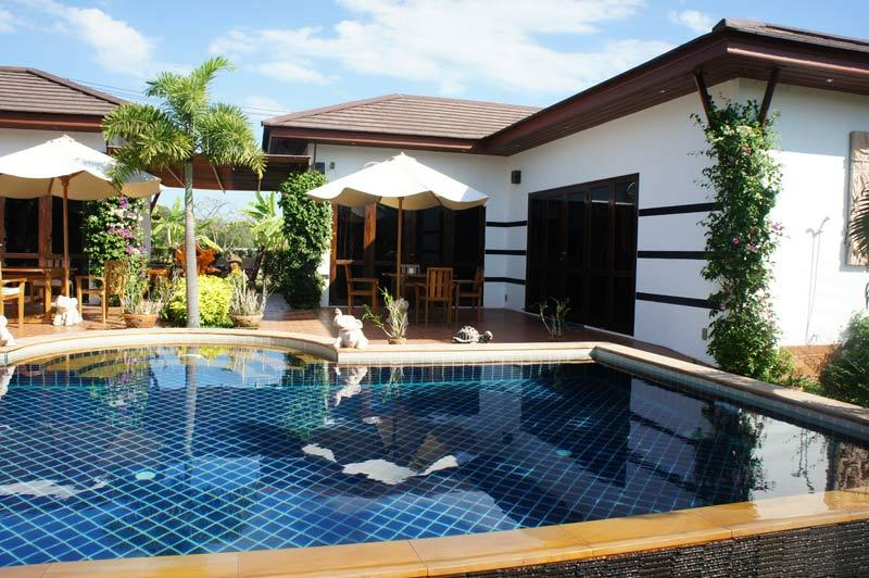 Your private pool - Resort house with private pool for rent in Rayong - Rayong - rentals