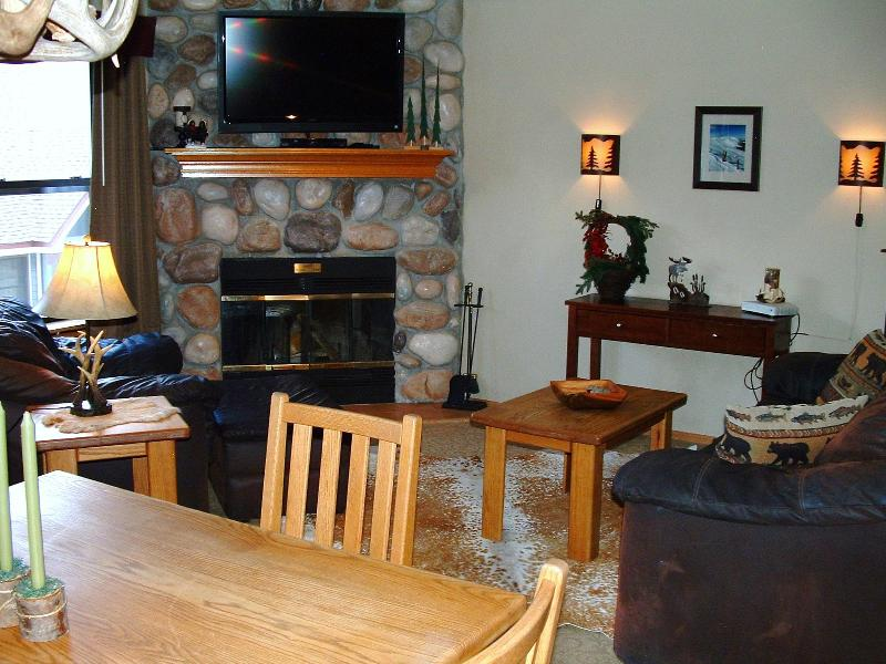 Nicely decorated in a lodge style, with comfortable furniture. - River Mountain Lodge Vacation Condo- - Breckenridge - rentals