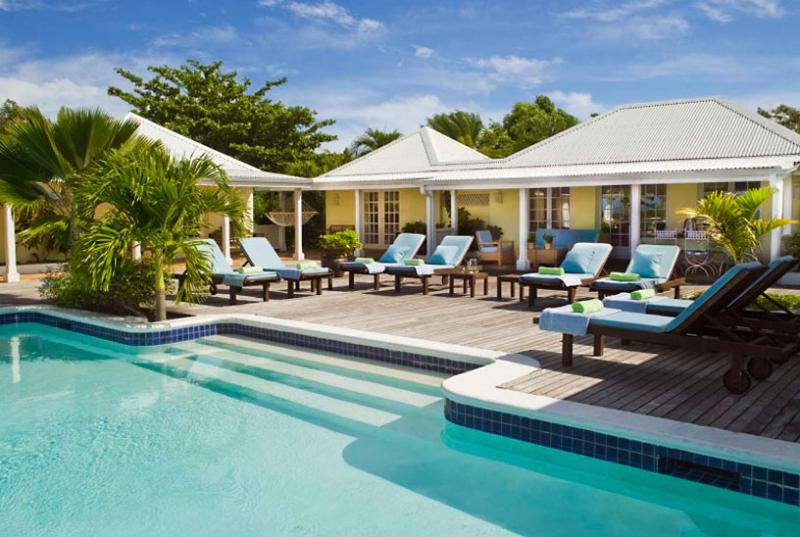 St. Martin Villa 89 Features A Gorgeous View Of Baie Longue And A Large Pool-side Terrace With Two Gazebos, One For Dining And One For Lounging. - Image 1 - Terres Basses - rentals