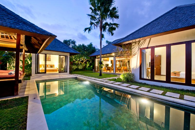 From Entrance - Villa Iris  2 br with pool - Seminyak Luxury Villa - Seminyak - rentals