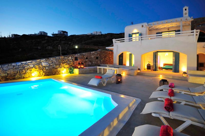 Private Villa in Mykonos , with Amazing view & Private pool. - Image 1 - Mykonos - rentals