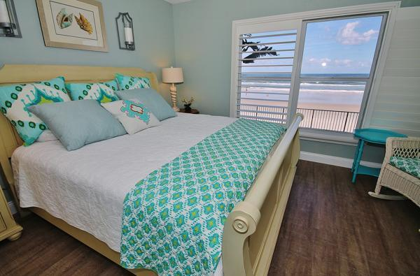Master Bedroom - Stay at Sea Coast Gardens this Summer - New Smyrna Beach - rentals