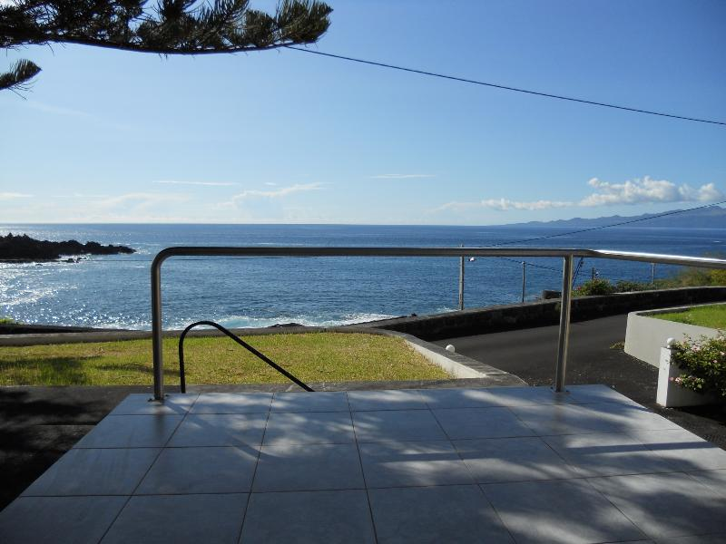 from front door looking to ocean - House in the Azores Islands- Tranquility lies here - Rosais - rentals