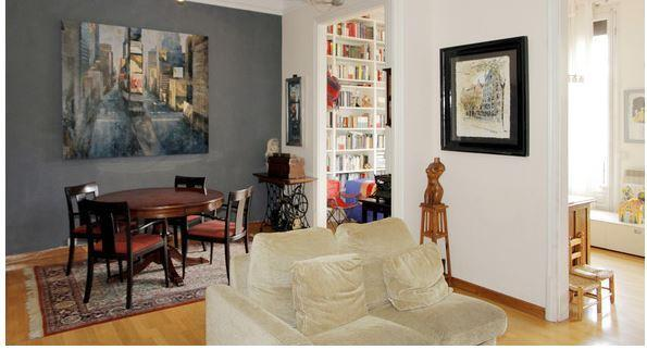 Dining Room - Big Family apartment in the center of Barcelona - Barcelona - rentals