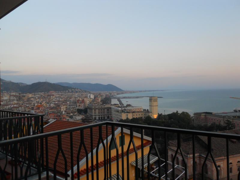 view from the terrace - panoramic apartment in Salerno - Salerno - rentals