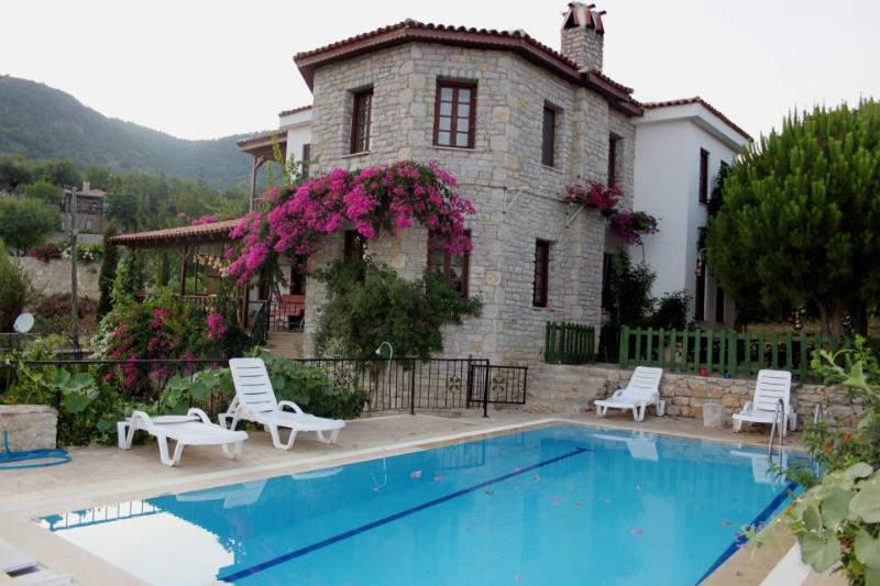 Stone villa with breath taking views, pool, wi-fi - Image 1 - Datca - rentals