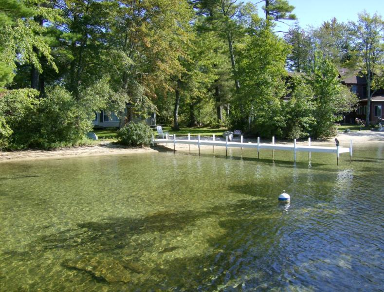 Crystal clear, sandy bottom frontage - Waterfront Home Lake Winnipesaukee Moultonborough - Moultonborough - rentals