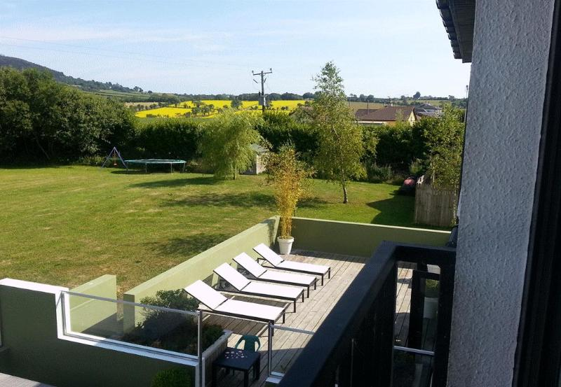 View from master bedroom - SLEEPS 13 - 5 Bed Holiday Home, Gorey, Co. Wexford - Gorey - rentals
