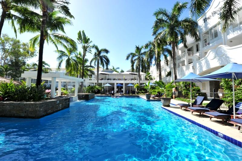 LAP POOL - APT 6233 BEACH CLUB RESORT PENTHOUSE APT WITH ROOF TOP SPA & BBQ - Palm Cove - rentals