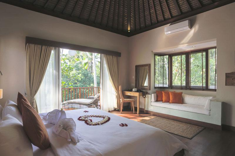 Bed Room 2nd Floor - Two Bed Rooms Private Pool Villa Rental in Ubud - Ubud - rentals